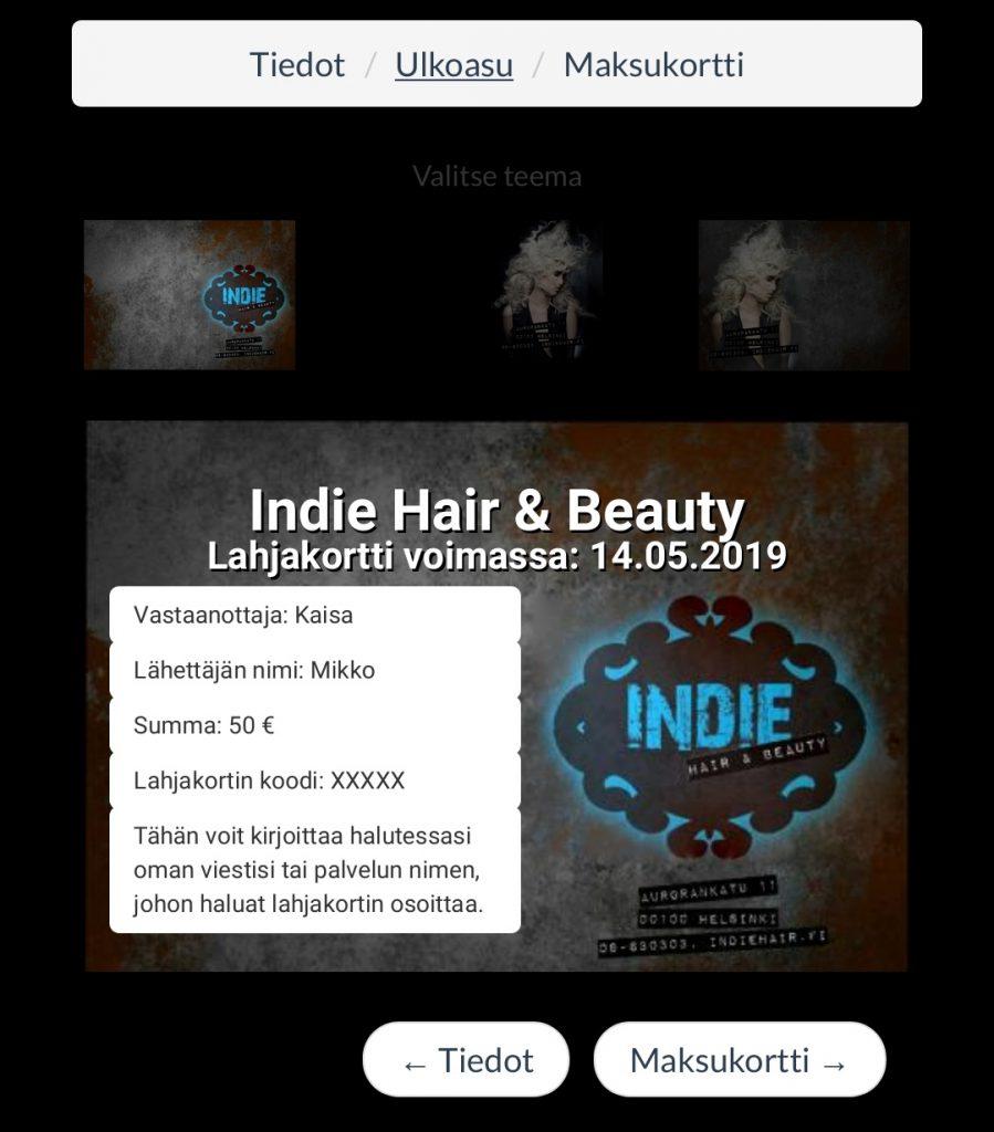 lahjakortti-ulkoasu-indie-hair-beauty